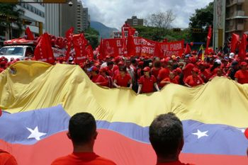 The movement of the masses in Latin America is the final answer to all those who argued that revolution was no longer possible. Photo by Venezuela Roja Rojita on Flickr