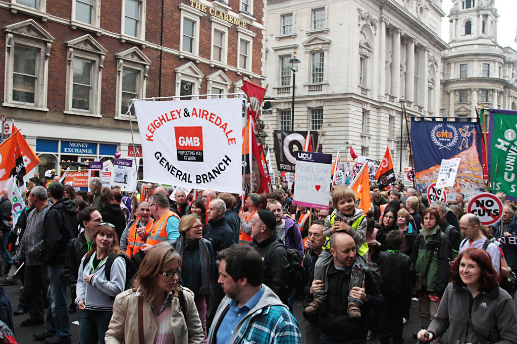 GMB unionists. Photo: MattieTK