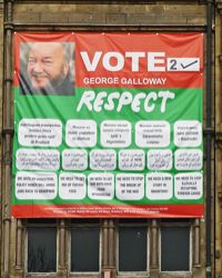 Poster in Bradford. Photo: Tim Green
