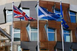 Scottish British EU flags-Tom Parnell