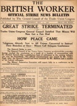 british workerGeneralStrike1926