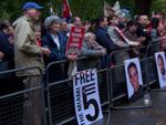 Report of vigil for Cuban Five in London