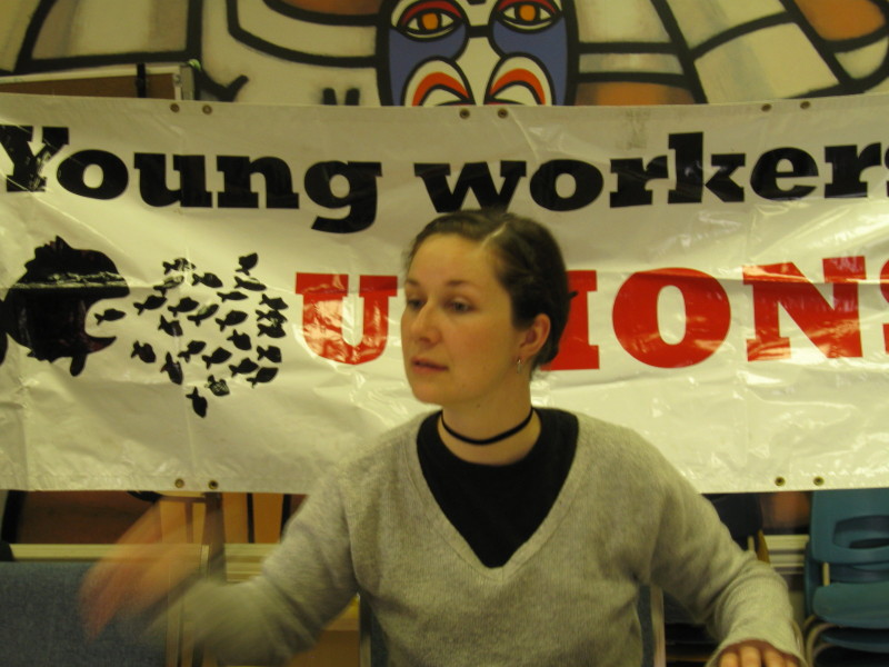 Fightback organised workshops in Vancouver.