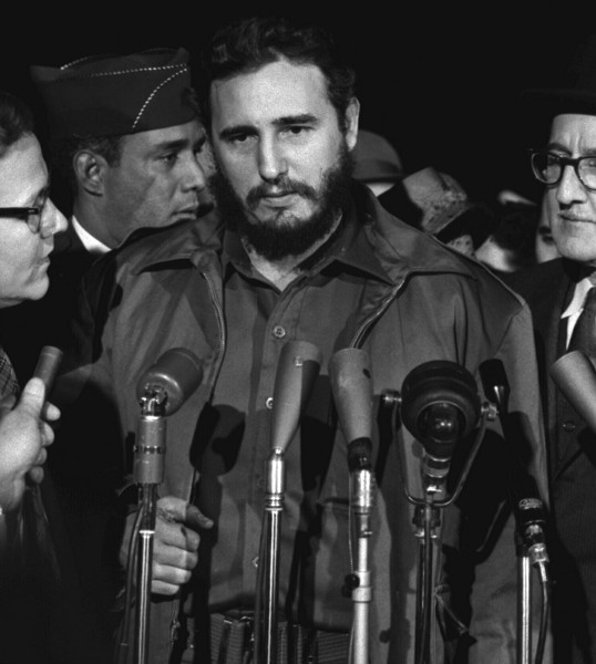 Fidel Castro in 1959. Photo from Library of Congress.