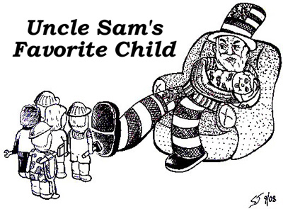 Uncle Sam's Favorite Child