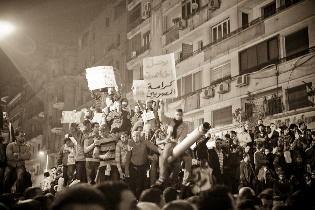 January 29 - Tahrir square - Photo: 3arabwy