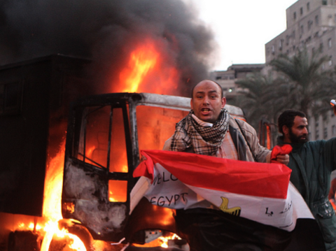 Tahrir Square, 21 November