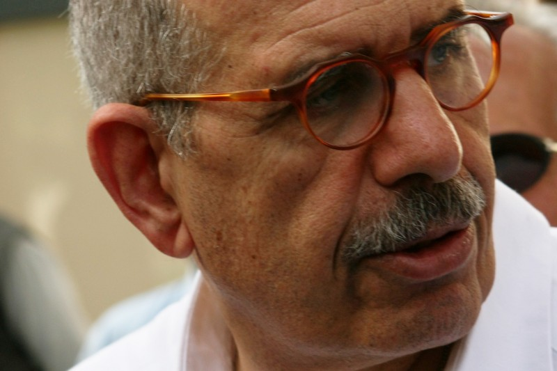 Mohamed ElBaradei. Photo Elijah Zarwan