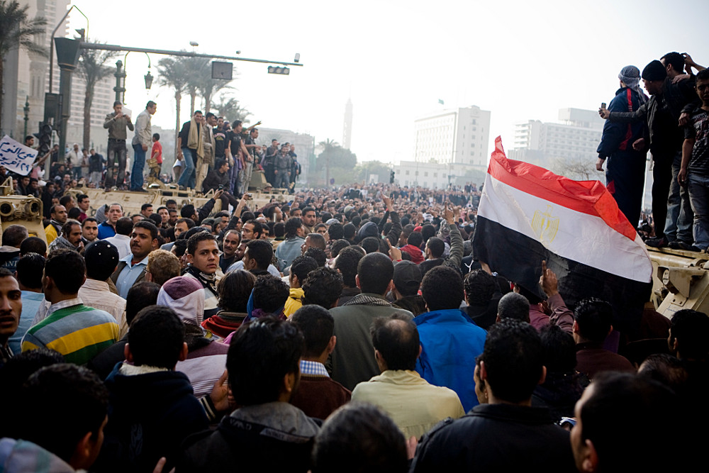 January 29, Cairo. Photo: 3arabawy