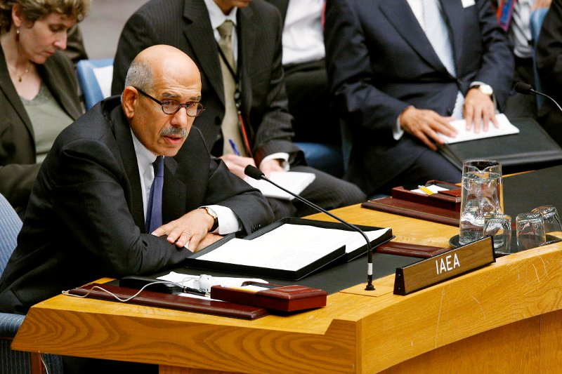 Mohamed Elbaradei in his previous role in the UN. Photo: UN Photo, Eskinder Debebe