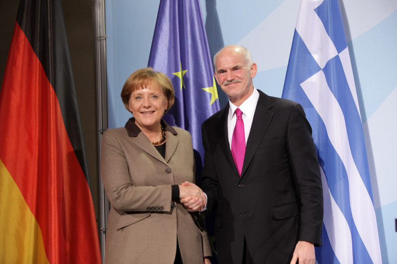 A strained relationship. Photo by the office fo the Prime Minister of Greece.