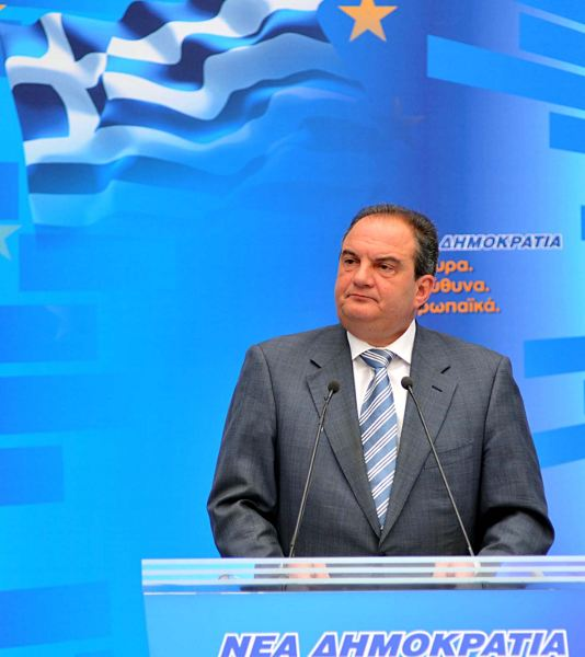 Kostas Karamanlis, leader of the bourgeois New Democracy party has been forced to resign over the abyssmal election results. Photo by New Democracy.