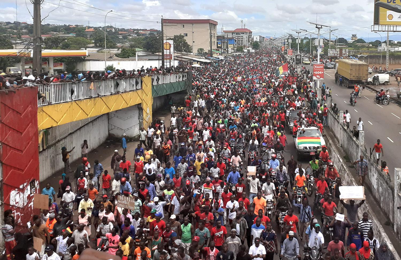 Mass protest Image Aboubacarkhoraa