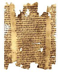Dead Sea Scroll - part of Isaiah Scroll (Isa 57:17 - 59:9), 1QIsa
