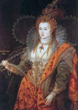 Elizabeth I Rainbow Portrait - Public Domain