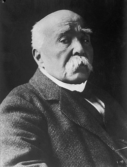 Georges Clemenceau, Prime Minister of France (1917 – 1920).