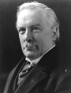 David Lloyd George, Prime Minister of Britain (1916 – 1922).