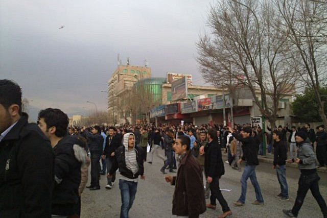 17 February, Sulaymaniyah. Photo: Karzan Kadozi