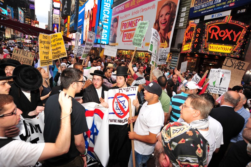 Rally in New York yesterday 1 June. Photo by  asterix611.