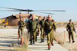 IDF chief of staff visits southern Israel. Photo: Israel Defense Forces