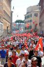 Italia – un millón de trabajadores en las calles contra las  medidas de austeridad. Foto de CGIL.