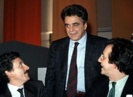 D'Alema, Occhetto and Veltroni