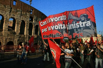 The IMT comrades of FalceMartello are now responsible for the reorganisation of Rifondazione among the workers.