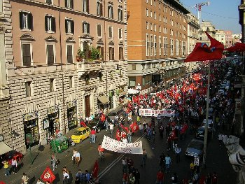 After October 11, no one in Italy can claim that the Left has ceased to exist just because it is no longer in parliament!