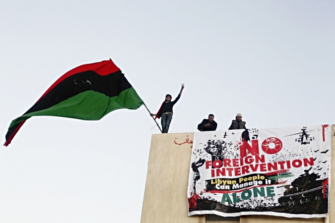 A few weeks ago in Benghazi. Photo: Al Jazeera