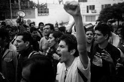 Marcha contra imposición, 1 de septiembre. Foto: Marte Merlos