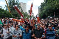 CNTE megamarcha, 11 de Septiembre. Foto: Eneas De Troya