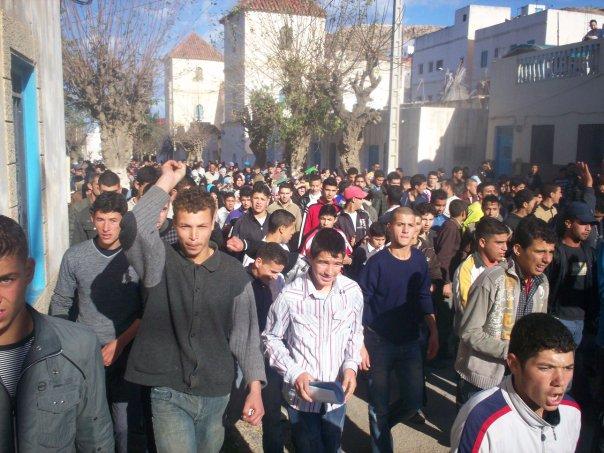 Manifestación en Jebha