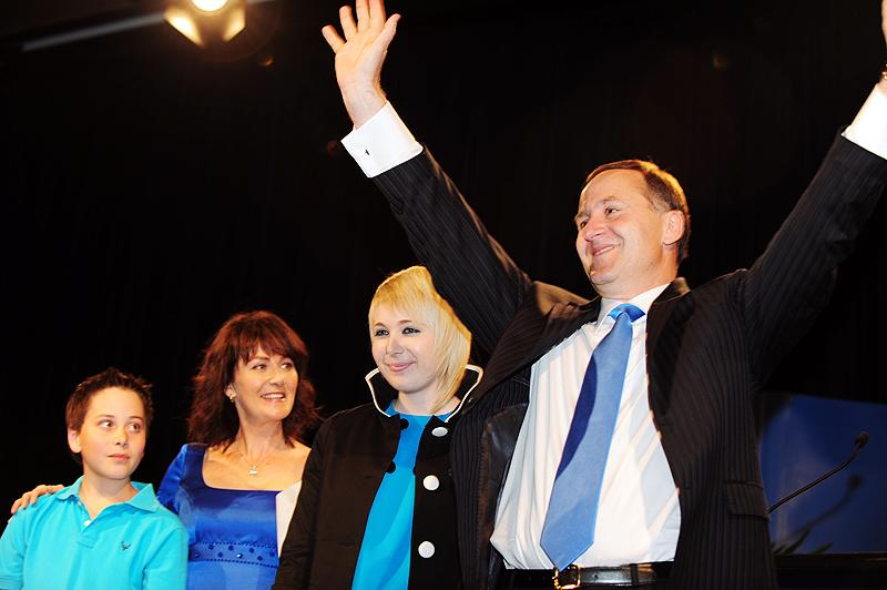 John Key, leader of the nationalist party, is embarking on a campaign of attacks on the working class after his election victory. Photo by kelvinhu.