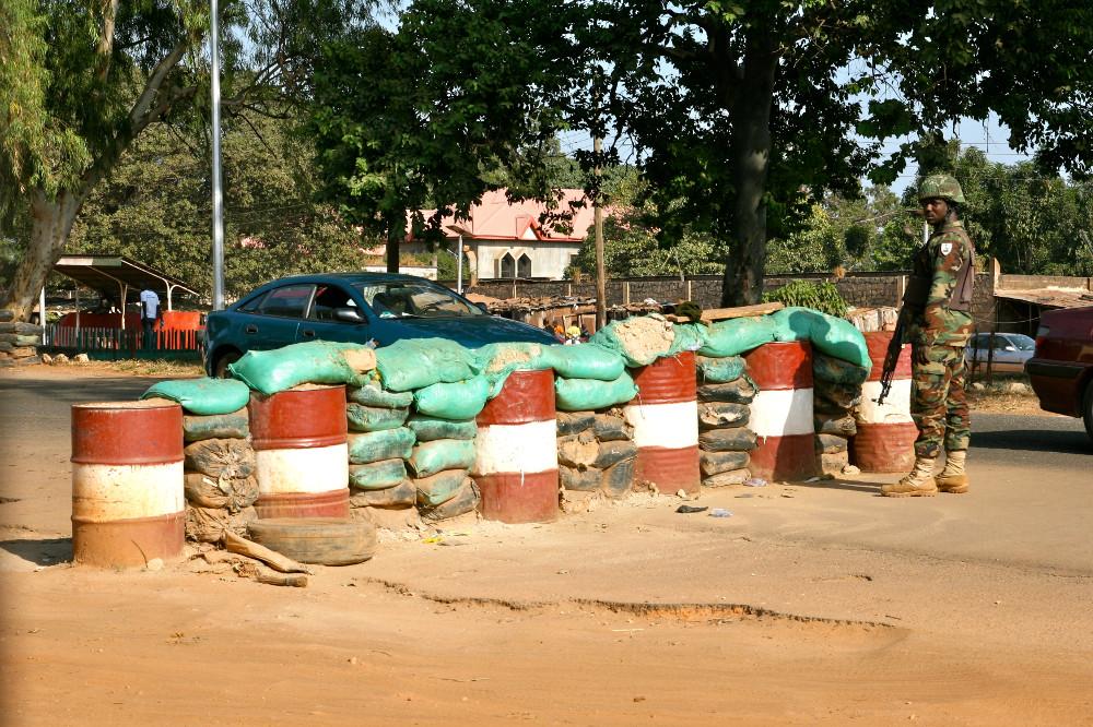 Kaduna checkpoint