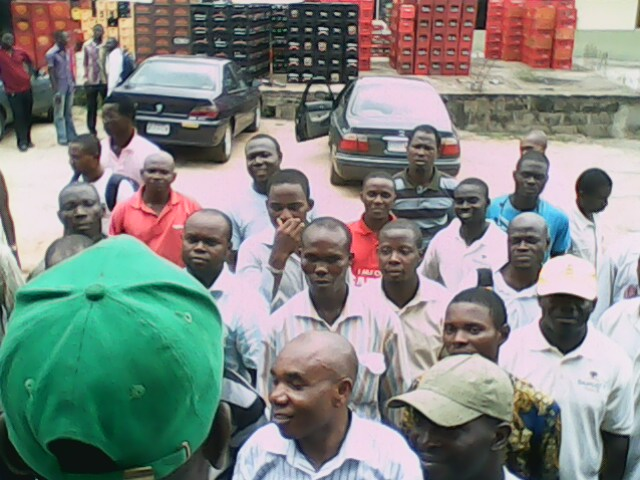 Dangote workers' picket