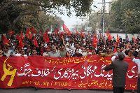 Delegates-demonstrate-in-Lahore