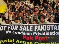 postal workers protest 4 january
