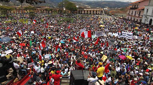 Región Cajamarca inicia actividades por 161 años de su creación política