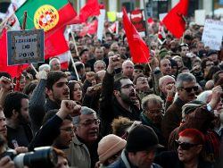 Mass demonstration against austerity - Photo: CGTP INTERSINDICAL