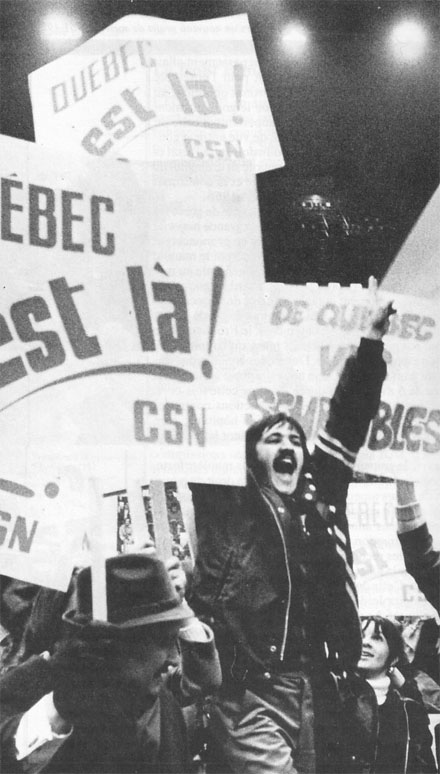 "The ""Quiet Revolution"" as it is popularly known was a struggle of national liberation led by the petty bourgeoisie of Quebec in the 1960s."