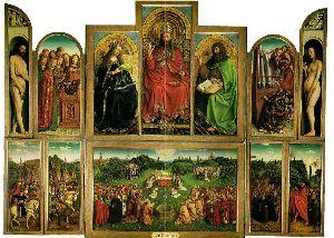 Gent alterpiece by Jan van Eyck