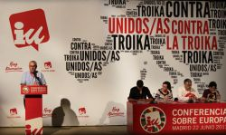 Conferencia sobre Europa, 2013. Foto: Izquierda Unida