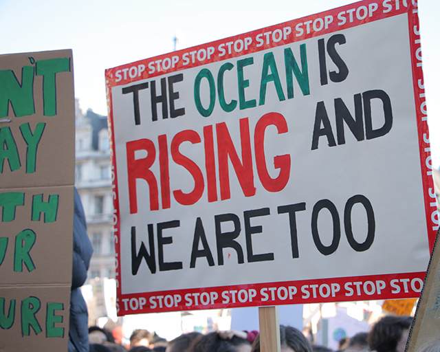 """The ocean is rising, and we are too."""