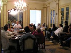 Alan Woods addresses Institute of Philosophy