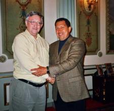 Chavez y Alan hace unos años