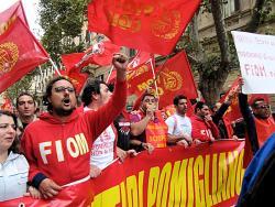Obreros de Pomigliano. Foto: Max Vario