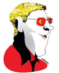 Caricatura de Almarzaale, El Mundo