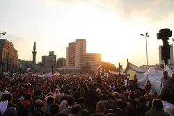 Tahrir Square, 8 February. Photo: omarroberthamilton