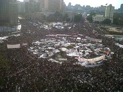 February 8, Tahrir Square. Photo: monasosh