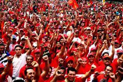 27 de mayo 2005, Frente de Trabajadores. Foto: Que Comunismo.